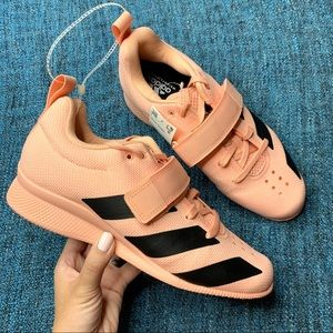 NWT Adidas Adipower Weightlifting 2 Shoe Glow Pink